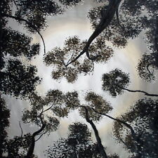 """landscape  art print on canvas painting jane crawford Trees Of Heaven 39"""" x 39"""""""