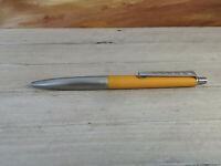Vintage MONTBLANC Carrera Yellow Ballpoint Pen, EXCELLENT!