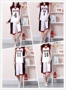 Kuroko no Basuke SEIRIN Cosplay Basketball Takao Kazunari Kagami Taiga Costume A