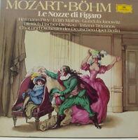 Mozart le Nozze Di Figaro Prey Mathis Troyanos Karl Böhm 3LP-BOX (d509)
