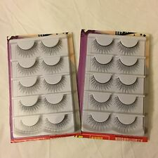 10 Pairs False Eyelashes *Natural style* in Black *Product of Japan, US Seller!