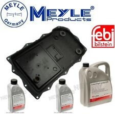 For BMW 2-7 Series Auto Trans Service Oil Pan & Filter Kit & 7L Fluid AT