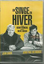 DVD - UN SINGE EN HIVER avec JEAN GABIN, JEAN PAUL BELMONDO / NEUF EMBALLE