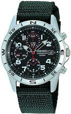 Seiko International Model SND399P Men's Watch Black
