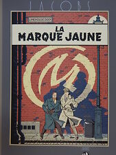 Jacobs. Blake et Mortimer. Sérigraphie. La Marque Jaune. 1987