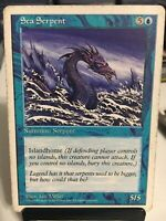 1997 Magic: The Gathering - Core Set: 5th Edition Sea Serpent Magic. LP.
