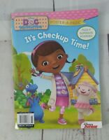 New Doc Mcstuffins It's Check Up Time Book with 9 Posters