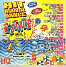 cd D2 VARIOUS HIT MANIA DANCE ESTATE VOL 1 mixed by Mauro Miclini ( Datura doubl