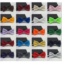 1pc Men's Bowtie Wedding Party Adjustable Necktie Bow Tie For Suits Tuxedos