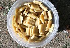 """1 lb 3/4"""" Venetian Vitreous Glass Mosaic Tiles Sierra Light Honey Brown Sand Tan"""