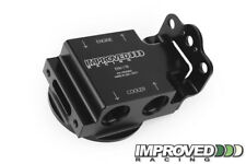 Remote Engine Oil Filter Mount with Thermostat, 185°F, -10AN