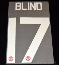 Manchester United Blind 17 Football Shirt Name/Number Europa/League Cup Home