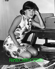 SALLY FIELD 8X10 Photo B&W 1960s Adorable Youthful Records Vinyl Portrait