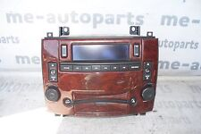 2004-2006 CADILLAC SRX AM FM RADIO STEREO 6 DISC CD CHANGER 25768020 OEM