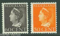 NETHERLANDS SC#225A/225B  NVPH#344/45  MINT NEVER HINGED  FULL ORIGINAL GUM