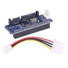 40-Pin IDE Female To SATA 7+15Pin 22-Pin Male Adapter PATA TO SATA Card#H