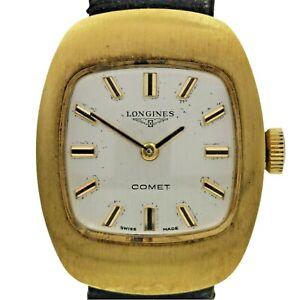 LONGINES - COMET - VINTAGE - LADY'S WATCH - GOLD TONE - STEEL - #IDFC
