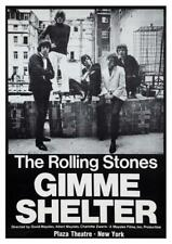 """Rolling Stones * 24"""" POSTER * Gimme Shelter -  PROMO  AMAZING IMAGE 70's Rock"""