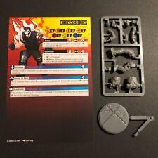 Tabletop - Marvel Crisis Protocol Core Set - Crossbones miniature + stat card