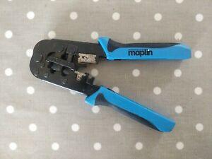 Maplin RJ11 & RJ45 Crimp Tool