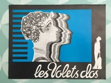 LES VOLETS CLOS avec MARIE BELL JACQUES CHARRIER CATHERINE ROUVEL -  Synopsis