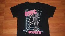 Cool Hip Hop Rap USHER Pistol Microphone Shirt small singer