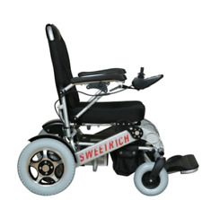 Electric Power Wheelchair Lightweight Folding Lithium Battery H'Duty 150kg UWC