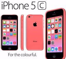 APPLE iPhone 5C 32GB PINK  (UNLOCKED) IN ORIGINAL BOX+USB+PLUG+EARPHONES BUNDLE