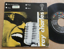 "DISQUE 45T DE RAY CHARLES  "" SWEET GEORGIA BROWN  """