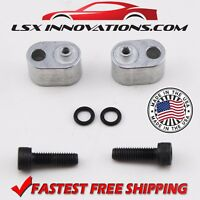 LS3 LS2 LS7 LS6 Corvette Rear Coolant Crossover Block Off Plugs NEW