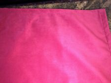FABULOUS CUSTOM MADE EURO SHAMS,HOT PINK,FUSCHIA SUEDE LIKE 25""