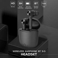 Bluetooth 5.0 Headset TWS Wireless Earphones Mini Earbuds Stereo Bass Headphones