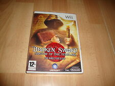 BROKEN SWORD SHADOW OF THE TEMPLARS THE DIRECTOR'S CUT PARA NINTENDO Wii NUEVO