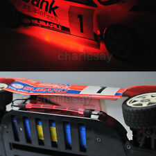 RC 1/10 Car Buggy Chassis BODY LIGHTING LED STRIP TUBE light RED COLOR NEW
