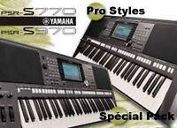 378 Styles Für YAMAHA PSR S 770-970-775-975-650-670-675- SX 700-900  Top Hit's