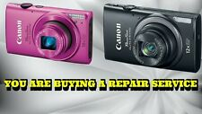 CANON ELPH 330 OR ELPH 340 REPAIR SERVICE FOR YOUR DIGITAL CAMERA-60 DAY WARR