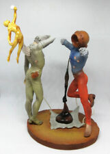 Salvador DALI Poetry In America Cosmic Athletes Resin Sculpture