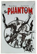 The Phantom #1 by Hermes Press, Variant cover 1D, black and white, Sal Velluto