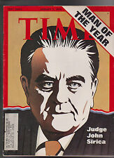 Time Magazine Judge John Sirica Man of the Year January 7 1974