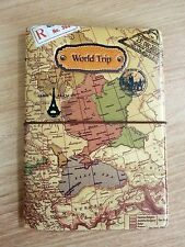Map Travel Passport Holder Cover Case Bag Wallet Ticket Card Document Protector