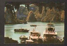 HA LONG / MUA DU LICH (VIETNAM) BATEAUX de TOURISTES animés