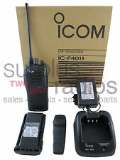 ICOM F4011 41 RC 4W UHF 400-470MHZ RADIO POLICE FIRE HAM EMS RACING 16CH