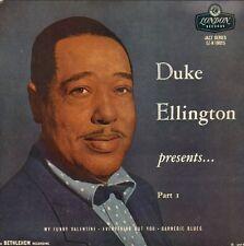 """DUKE ELLINGTON - Presents....Part 1 (1957 UK VINYL EP 7"""")"""