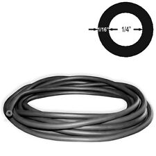 3/8in(10mm) OD 1/4in(6.4mm) ID Latex Rubber Tubing BLACK 10FT CONTINUOUS (#804)