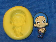 Goby Bubble Guppies Silicone  Mold 475 For Cake Pop Fondant Candy Chocolate