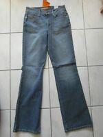 Damen Strech - Jeans, Mac - Carrie, Neu - Gr. 36 (W29/L33), Blau
