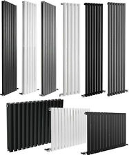 Designer Column Radiators, Vertical and Horizontal - White, Black or Anthracite