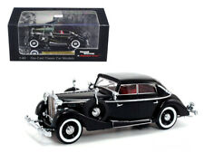 1937 Maybach SW38 Spohn 4 Doors Black Convertible 1/43 Diecast Car Model by Sign