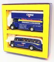 Corgi 1/50 Scale Diecast C82 - On The Move Bedford Bus & Van Set
