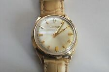 Vintage Bulova Accutron Watch A44373 10K Gold Filled Bezel & Stainless Steel